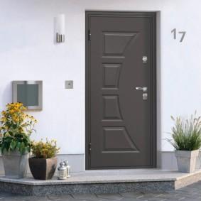 comment choisir la porte d'entrée pour les idées d'appartements