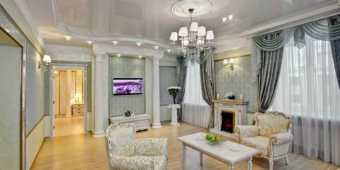 intérieur de salon de style classique