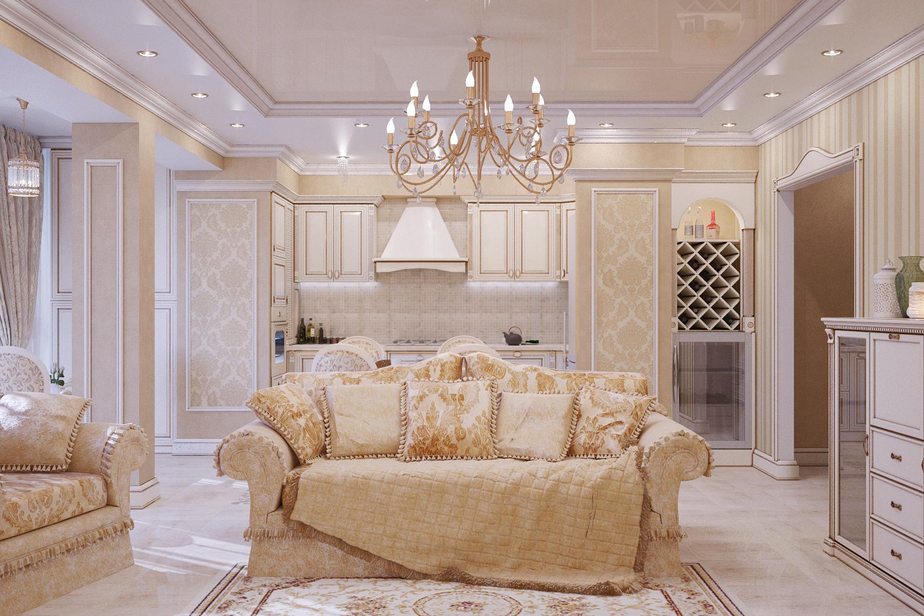 Làm thế nào để tạo ra một phong cách nội thất phòng khách cổ điển