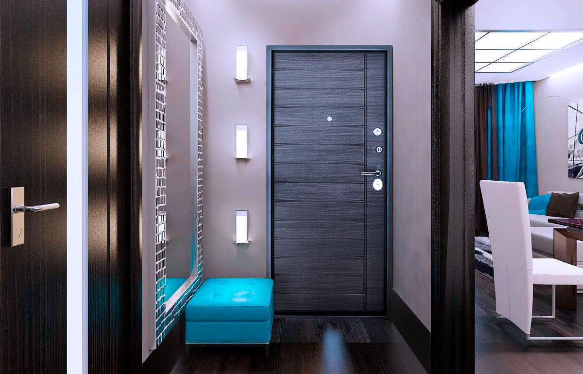 comment choisir le décor photo de la porte d'entrée