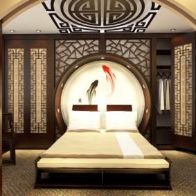 chambre de style oriental