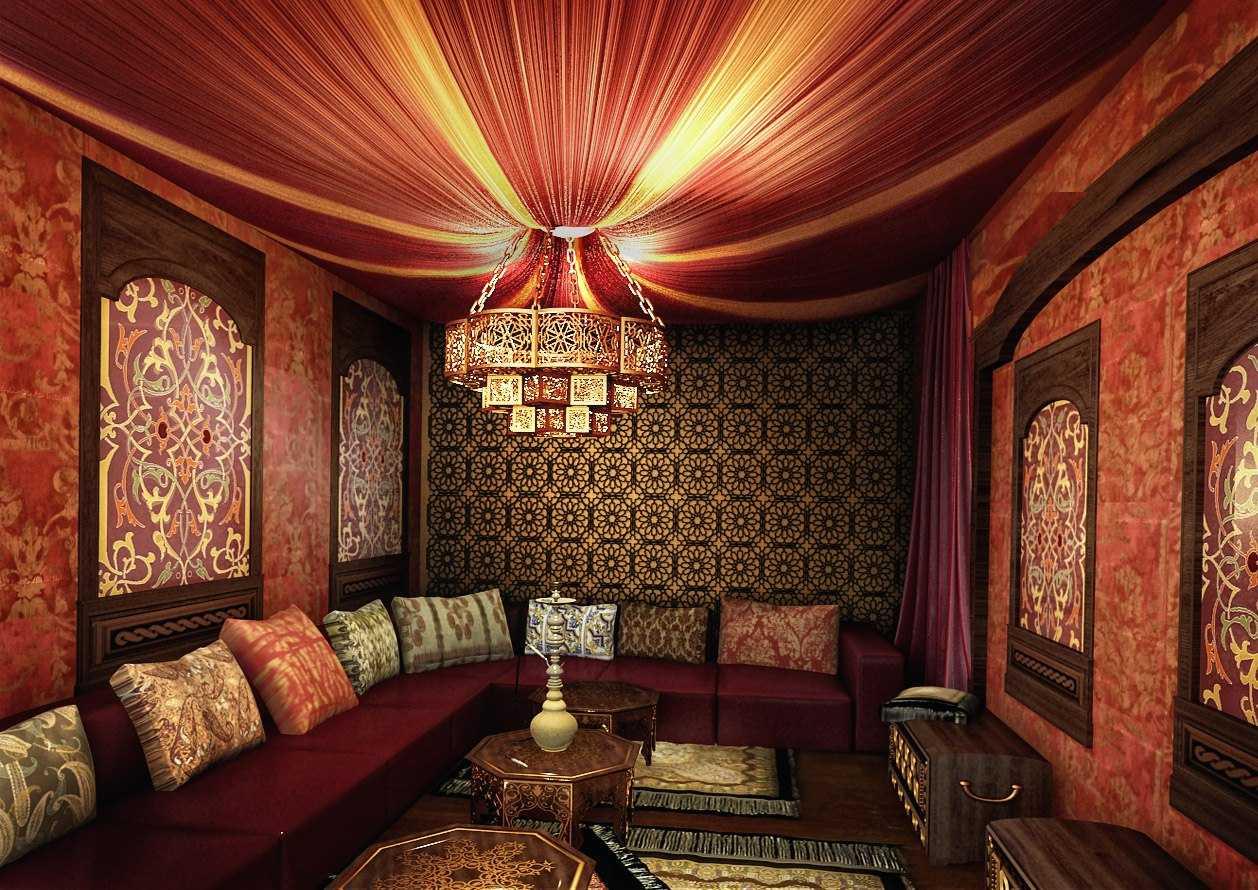 textile de style oriental