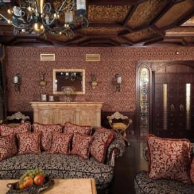intérieur de la chambre dans des idées de style oriental