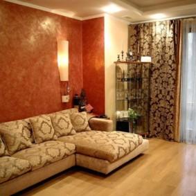 intérieur de la chambre dans des photos d'idées de style oriental