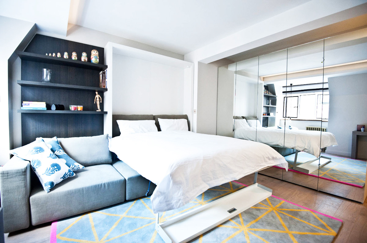 appartement de 35 m² canapé convertible