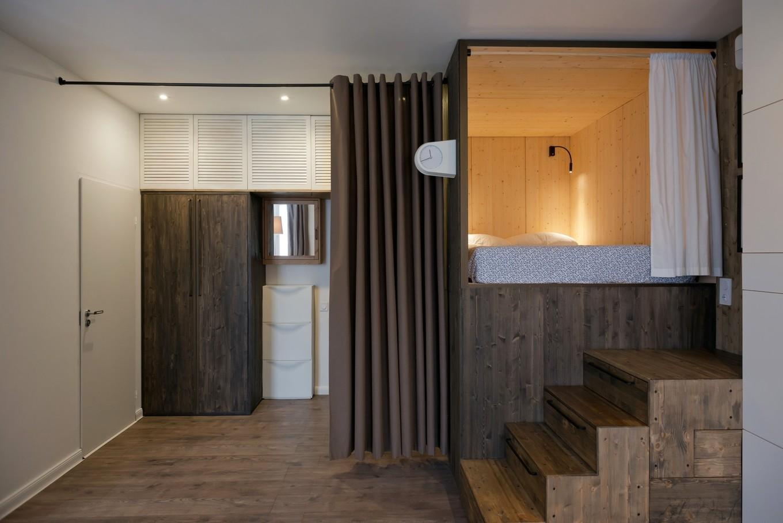 appartement de 35 m² penderie