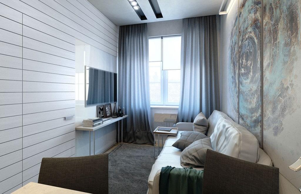 appartement de 35 m² séjour