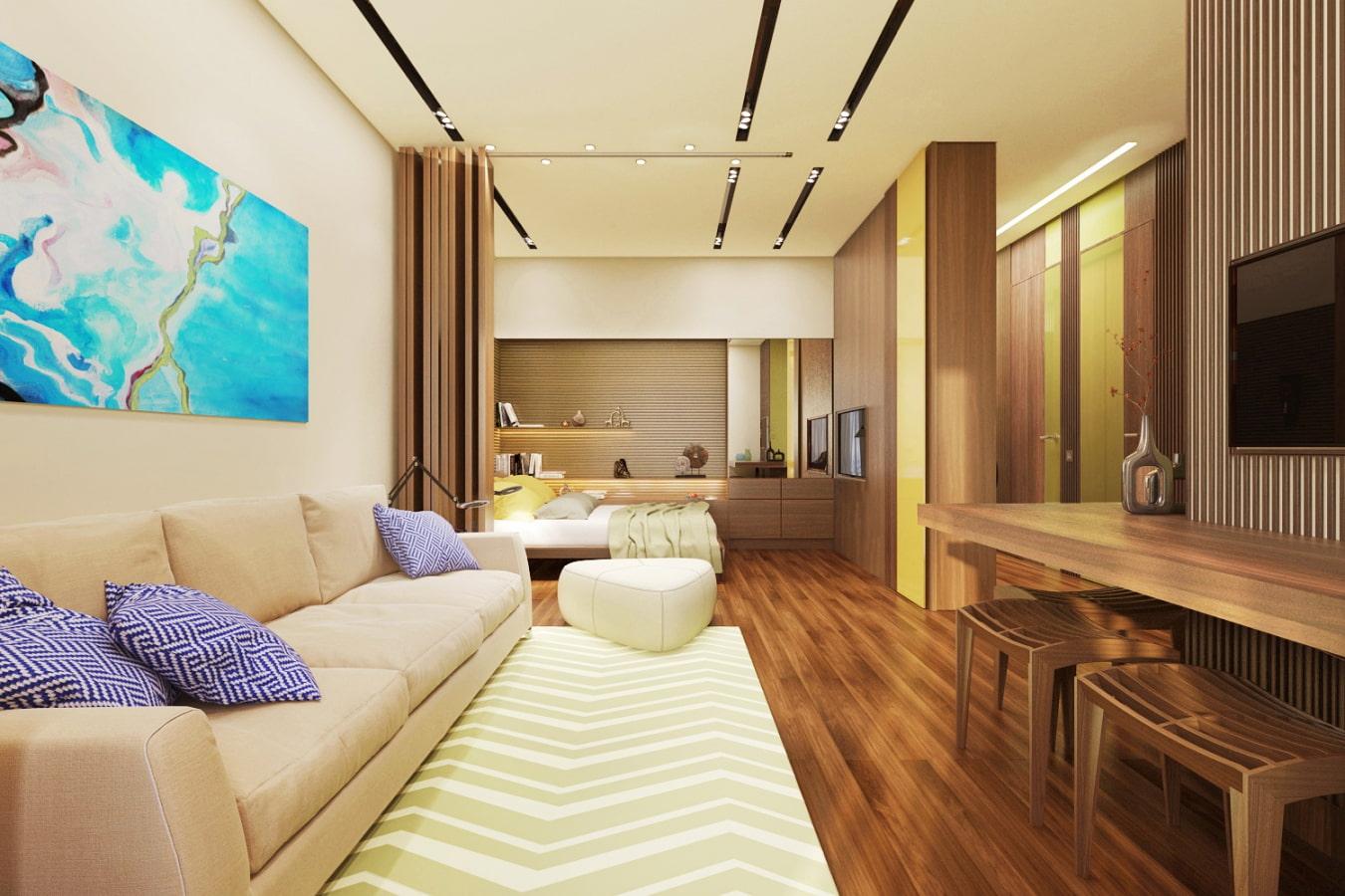 appartement de 35 m² idées