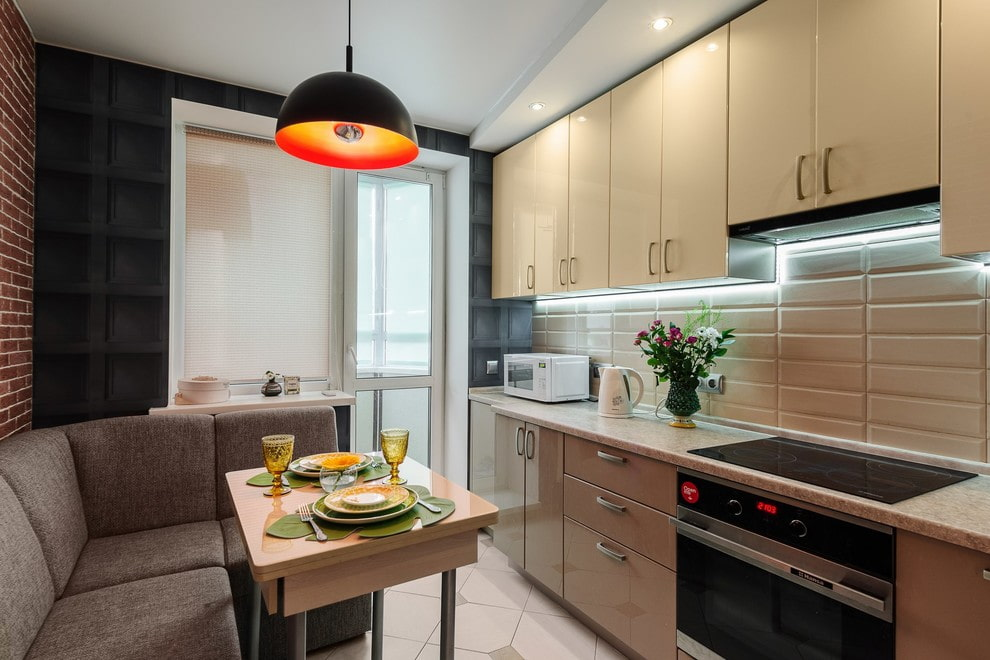 appartement de 35 m² cuisine