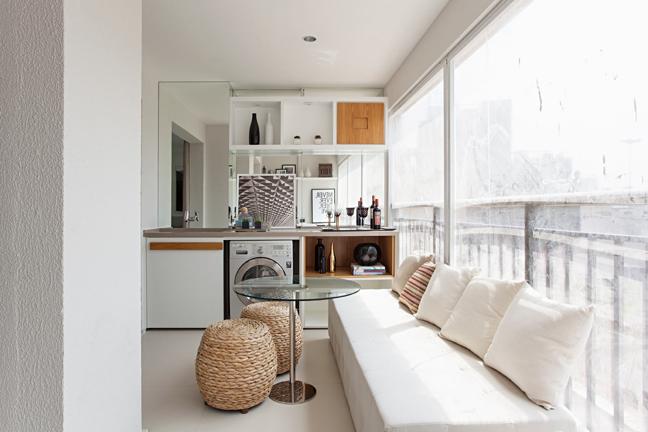 appartement de 35 m² loggia
