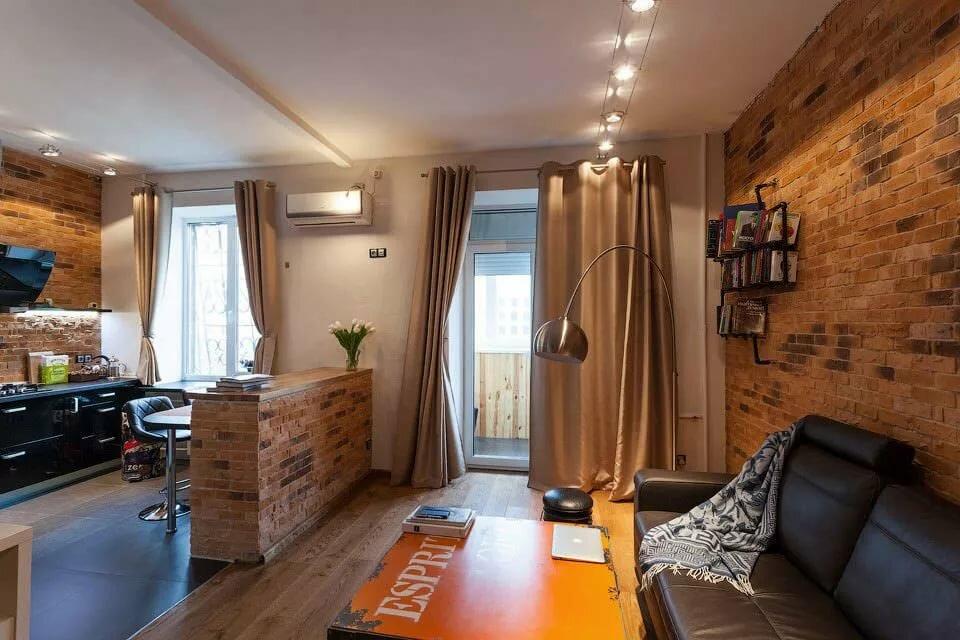 appartement de 35 m² loft