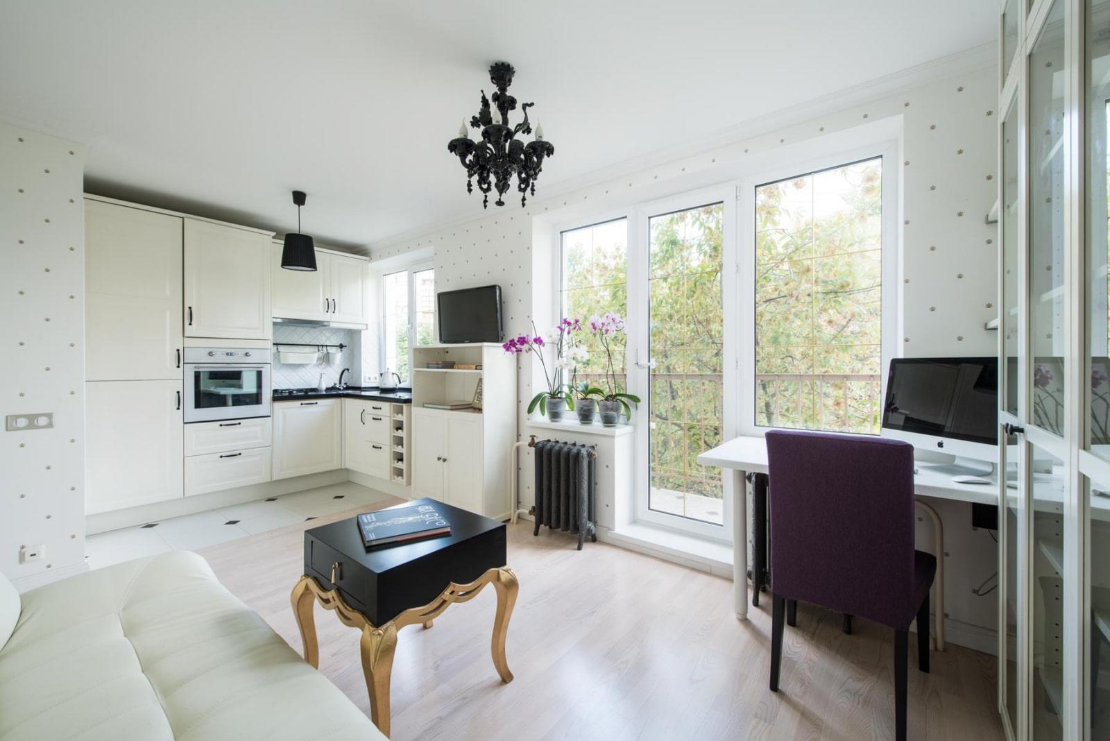 appartement de 35 m² meublé