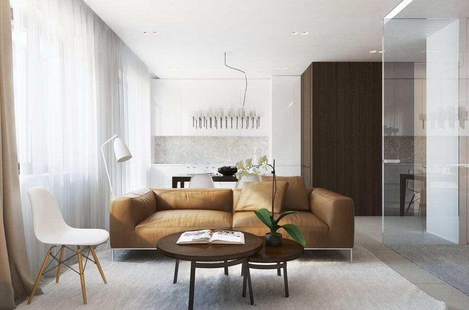 appartement de 35 m² minimalisme