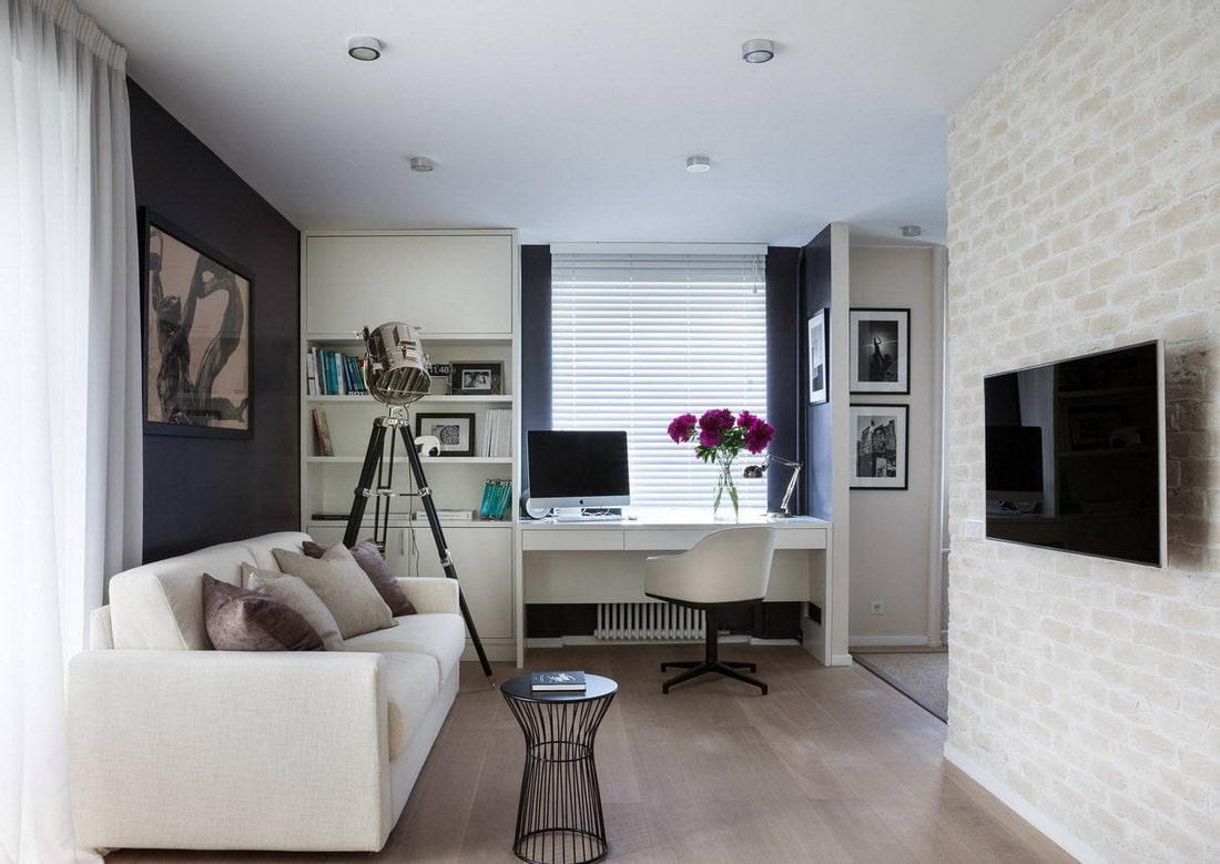 appartement de 35 m² lieu de travail