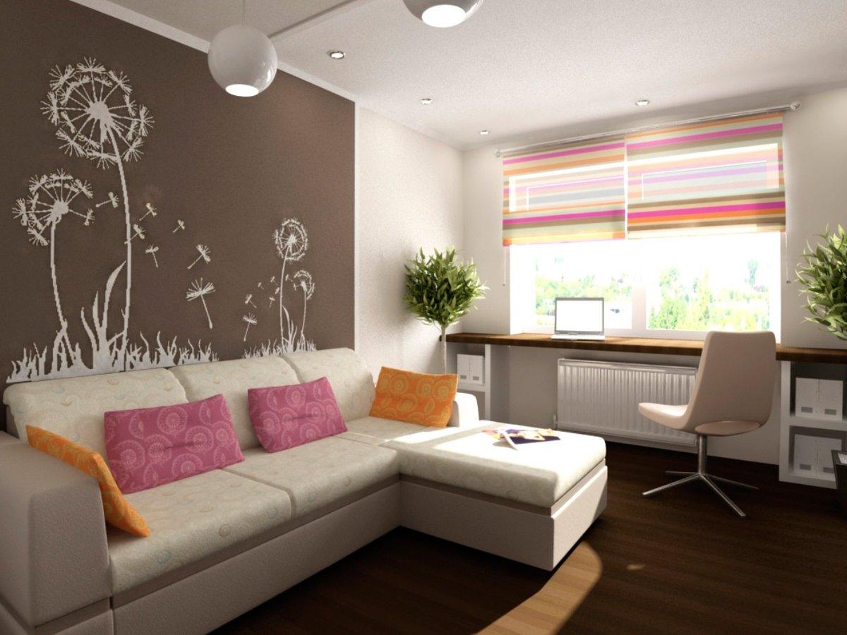 appartement de 35 m² avec un enfant