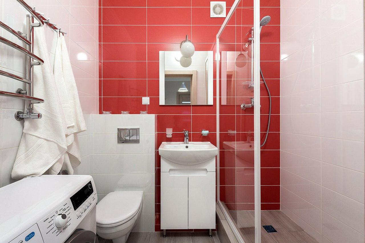 appartement de 35 m² salle de bain