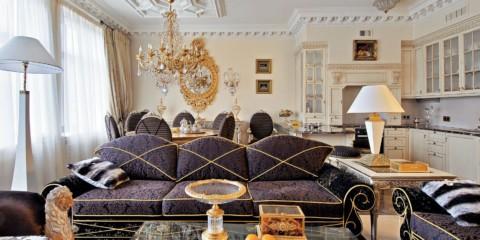 appartement baroque idées photo