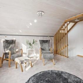 linoléum dans les idées de décoration de l'appartement
