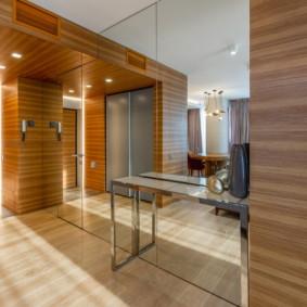 linoléum dans un appartement intérieur photo