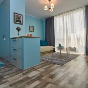 linoléum dans la conception photo de l'appartement