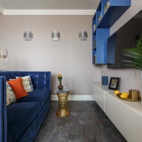linoléum dans l'appartement photo décoration
