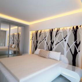plafonds suspendus dans les idées intérieures de la chambre