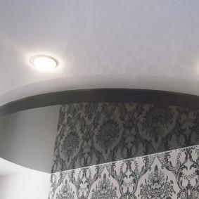 plafonds suspendus dans la décoration photo de la chambre