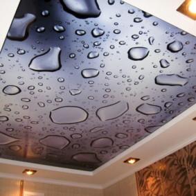 plafonds suspendus dans les vues photo de la chambre