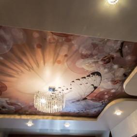 plafonds suspendus dans la chambre types d'idées
