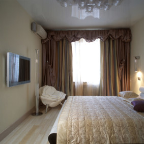 plafonds suspendus dans la chambre