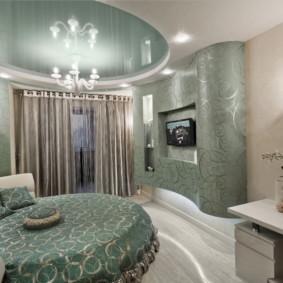 plafonds suspendus dans les idées de décoration de chambre