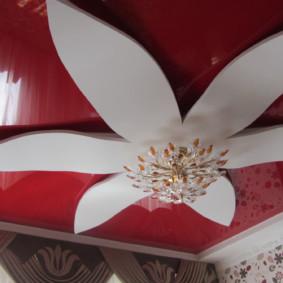plafonds suspendus dans les options de chambre