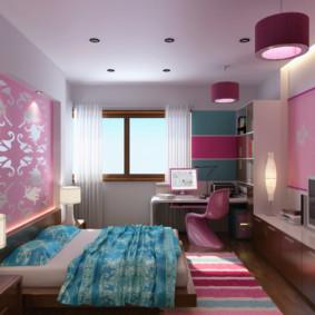 niche de cloison sèche dans la photo de conception de la chambre