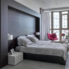 niche de cloison sèche dans les idées d'intérieur de chambre à coucher