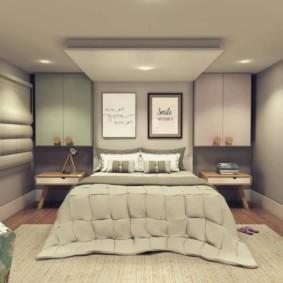 niche de cloison sèche dans la photo d'options de chambre