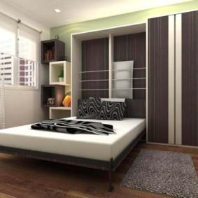 niche de cloison sèche dans les options de photo de la chambre