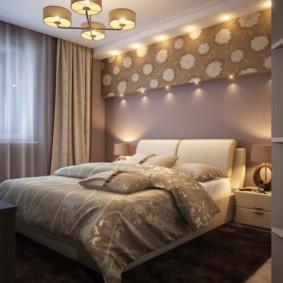 niche de cloison sèche dans les espèces de photo de chambre à coucher