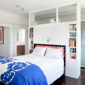 types de niche de cloison sèche de chambre à coucher