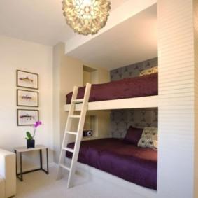 niche de placoplâtre dans la chambre