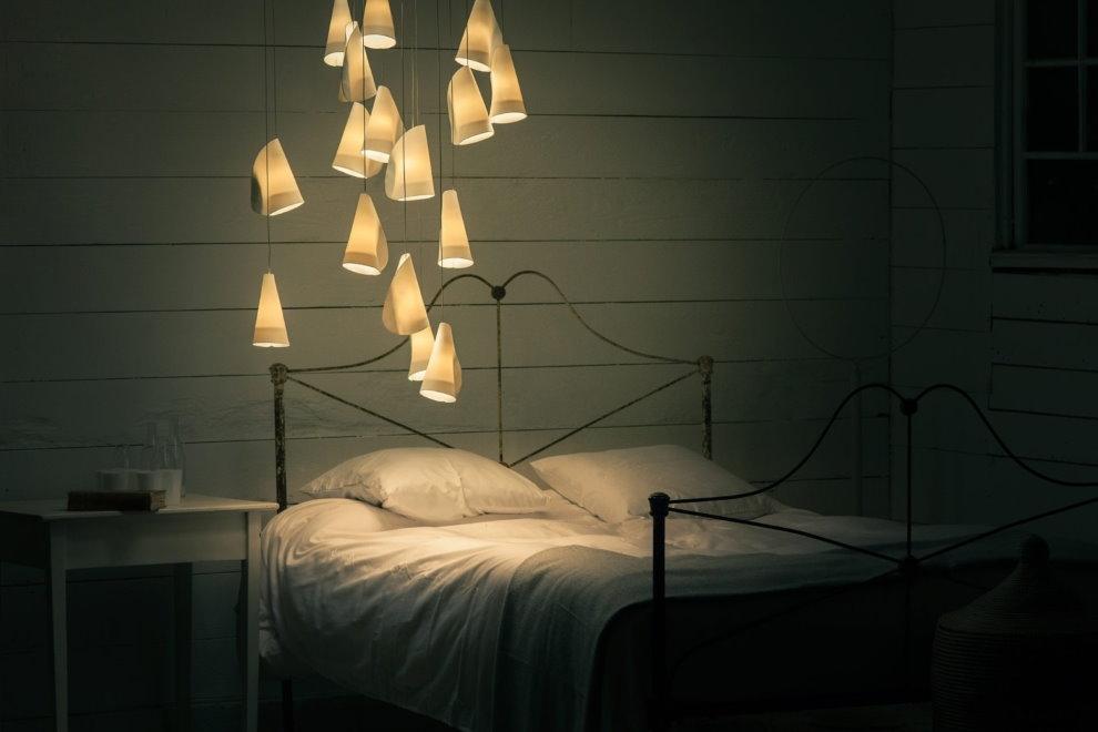 Lampe de nuit suspendue de conception originale