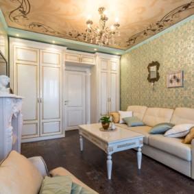 salon moderne dans un appartement design photo