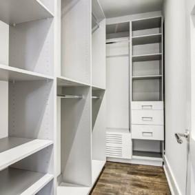 disposition d'un garde-manger dans un appartement