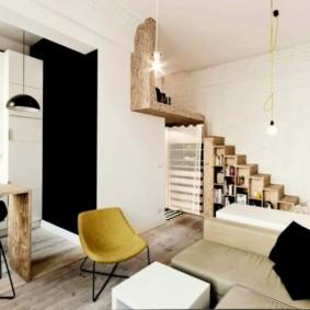 Studio de 30 m² au décor