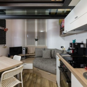 Studio de 30 m² projet design