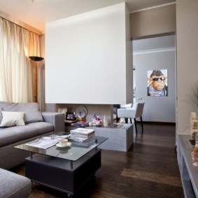 Studio 30 m² design photo