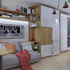 Studio 30 m² photo