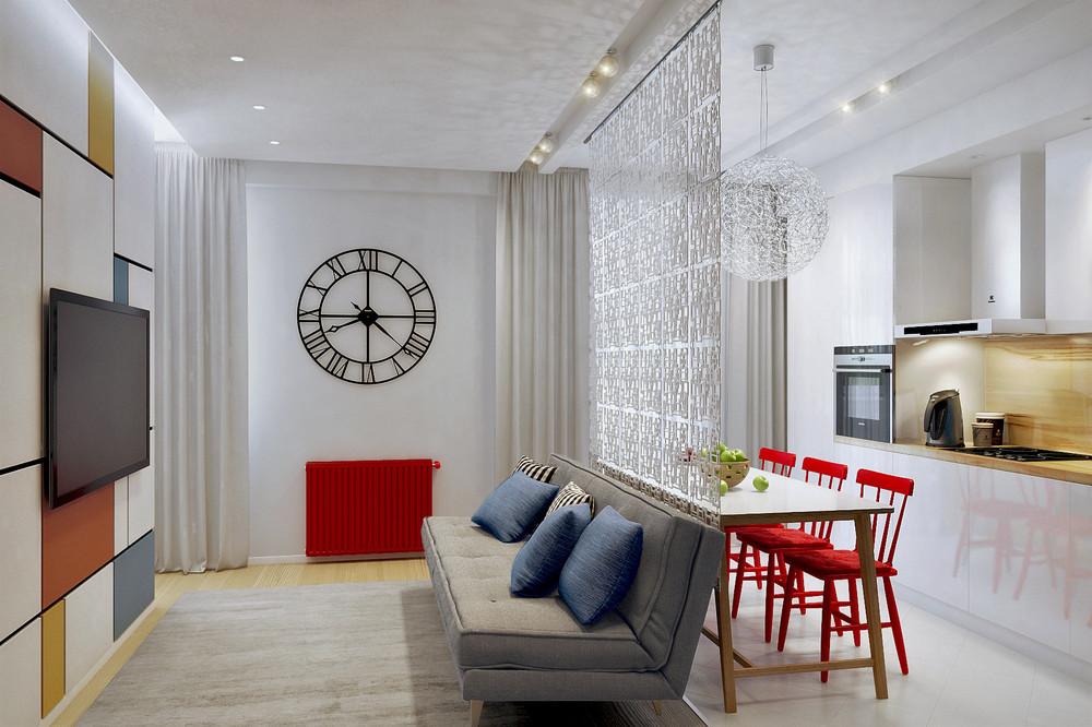 studio appartement 30 m² séjour