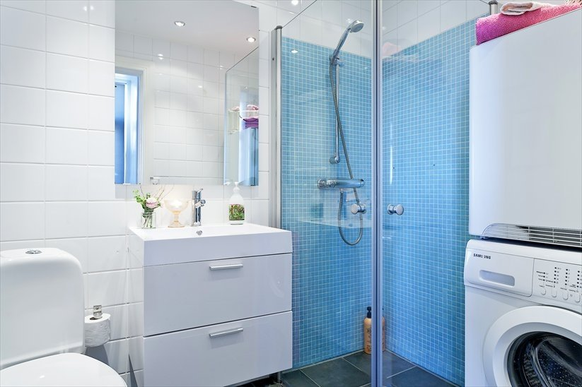Studio 30 m² salle de bain