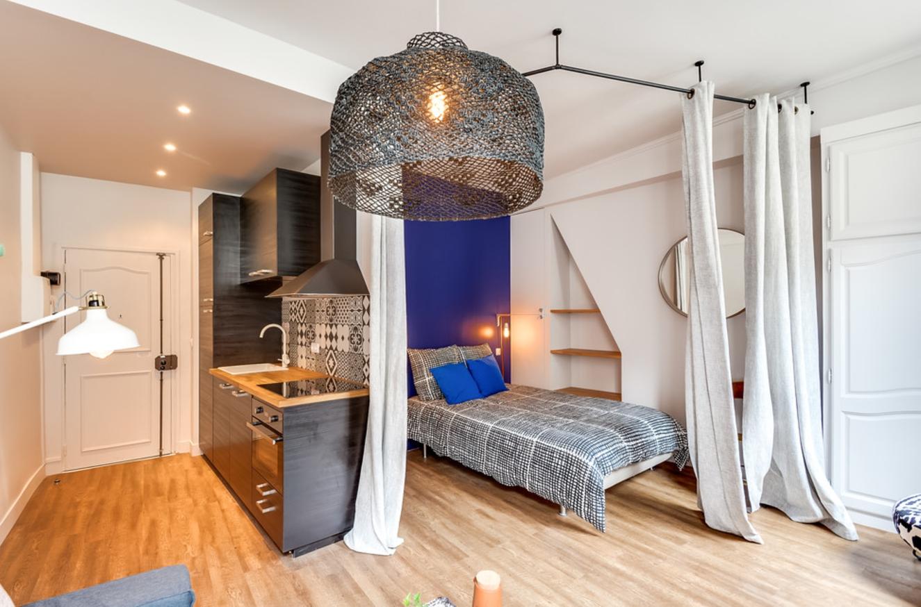 Studio 30 m² chambre