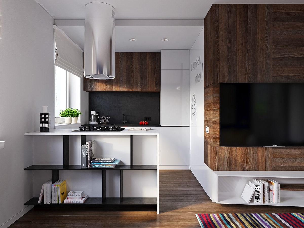 studio 30 m² high tech